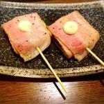 近江野菜鉄板串焼き わえん - ズッキーニのベーコン巻
