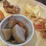 旬菜食健 ひな野 - 左側の野菜のマリネが、とっても美味しかった~\(^o^)/