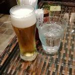 ディップガーデン - グラスビール付き