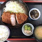 勝作 - 料理写真:特とんかつランチ(220g以上)