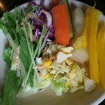 ベリーベリーファーム上田 レストラン - サラダ