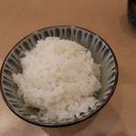 割烹 小川 - ご飯