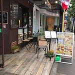 CITRON - 青山通りから少し入った通りにテラス席もあります