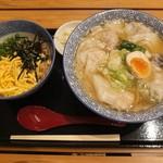 ワンタン麺屋 富士虎 - ミックスワンタン麺と木更津めし。