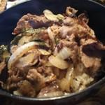郷土料理 味の館 ふる里 - 肉重