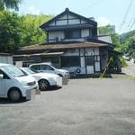 郷土料理 味の館 ふる里 - 駐車場の様子