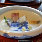 天ぷら 松 - お造り