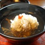 天ぷら 松 - 鱧のお椀