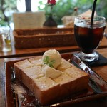 カコカフェ - ハニートースト