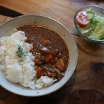 カコカフェ - 野菜たっぷり牛スジカレー