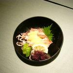秀吉 - ベカ酢味噌和 自店自慢の酢味噌で、味わって頂いてます。
