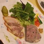 ビストロ オララ - お肉のお惣菜盛り合わせ(850円+税)2018年7月