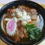 コマ展望台レストラン - '18/07/15 つくばうどん(税込1,000円)