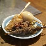 三河屋 - 料理写真:信太巻き・玉子・牛すじ・糸コン