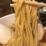 新橋 纏 - 中細ストレート麺