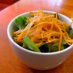 浅草カフェ ラグランドカリス - ガレットランチのサラダ。