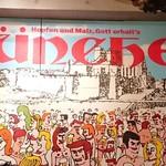 ミュンヘン - 壁にはこんな絵が