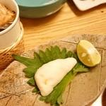 大塚 三浦屋 - 河豚白子焼きとヒレ酒