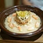 壽山 - 蟹の炊き込みご飯