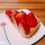 デリス - 苺のタルト  1cut  770円