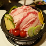 やんばる - やんばる島豚あぐーと季節野菜の島野菜