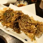 やんばる - もずくの天ぷら