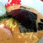 ラーメン山岡家 - いつもの醤油