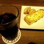 高倉町珈琲 - 料理写真:コーンマヨトーストセット!