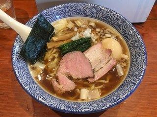 麺処ほん田 - 「手揉み中華蕎麦 醤油」770円