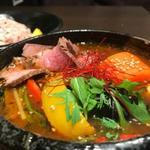 スープカレーと季節野菜ダイニング 彩 - こだわりのローストビーフスープカレー