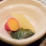 meguronowashokusatou - 【鯛茶漬け@税込1,200円】漬物