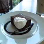 89294250 - チョコレートケーキ。