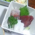仙太郎 - お刺身三種盛り