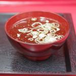 丸福 - スープ