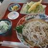 古民家 cafe 水音の里 - 料理写真:天ざる蕎麦
