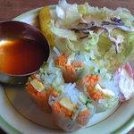 8930554 - 野菜春巻きサラダ
