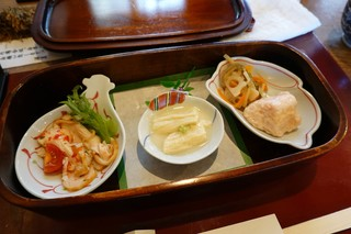 豆腐かふぇ 浦島 - 玉手箱の中身