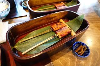 豆腐かふぇ 浦島 - 豆腐でんがく