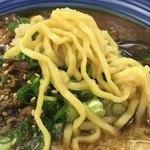 白河そば - 温スープに中華麺…弱い