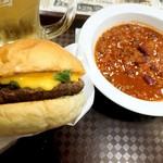 エリックス・ハンバーガーショップ - ポパイチーズメルト