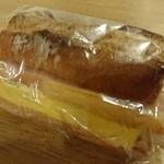 スクラッチベーカリーYOU - 厚焼き玉子ベーコンバゲット