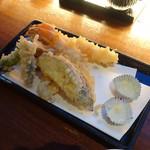 おたる政寿司 ぜん庵 - 天婦羅の盛り合わせ(1,280円)