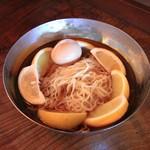 ひとしお - レモンラーメン (冷)
