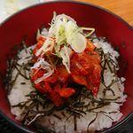 孝和園 - ミニキムチ丼