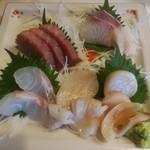 いろり - 料理写真:刺し盛り 750円