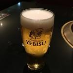 焼肉 いのうえ - 生ビール