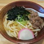情熱食堂 - 肉うどん (税込)590円 (2018.07.15)