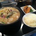 元祖 焼麺ちゃんぽん太郎 - 並ちゃんぽん+から揚げランチセット