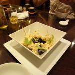 8931964 - ピータン豆腐です。ビールにピッタリな一品です。