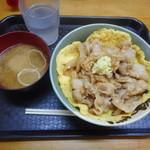 笑姜や - 理想の生姜焼き丼 ¥620-